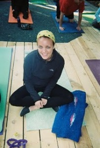At my last yoga retreat